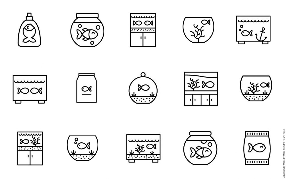Aquarium by 'Made by Made' for Noun Project